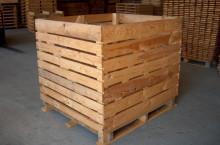 Продаваме висококачественни дървени бокс палети